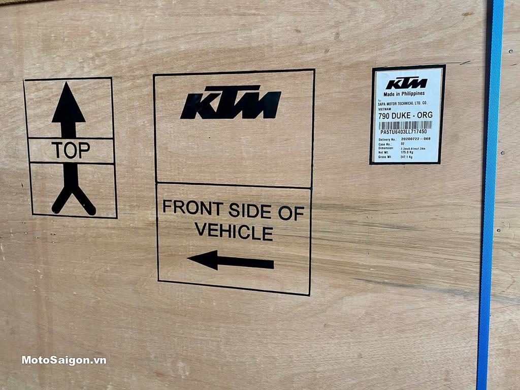 KTM 790 Duke 2020 chính hãng đầu tiên về Việt Nam
