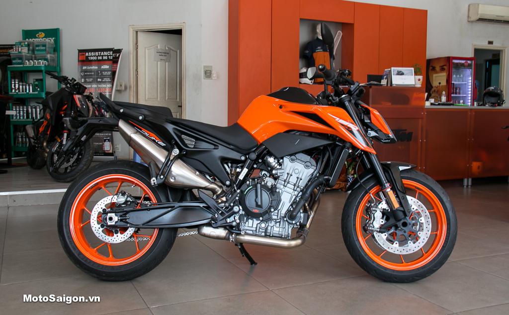 KTM 790 Duke 2020 giá bán dưới 350 triệu đồng