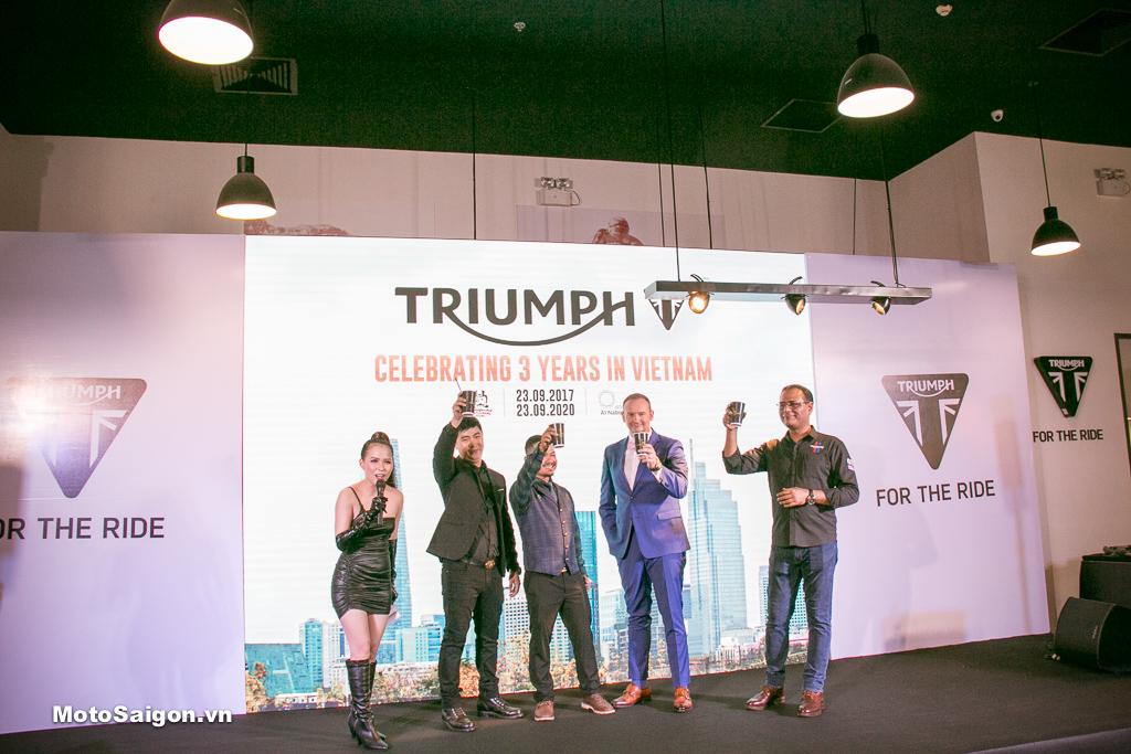 DGR 2020 - The Distinguished Gentleman's Ride 2020 năm nay diễn ra cùng lúc với Sự kiện Kỷ niệm 3 năm thành lập của Triumph tại thị trường Việt Nam,