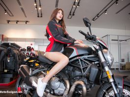 Ducati Monster 821 Stealth đã có giá bán chính hãng tại Việt Nam