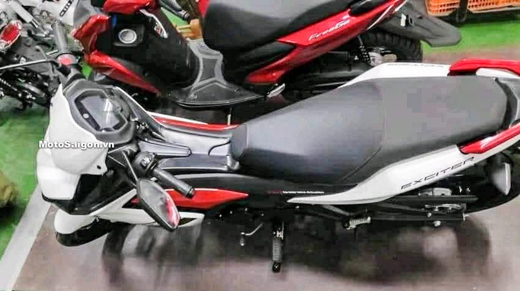 Exciter 155 GP màu xanh Ex155 RC màu trắng đỏ lại lộ hình ảnh