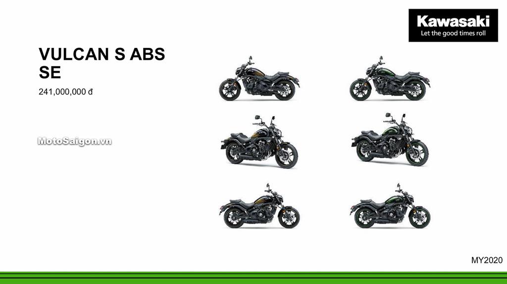 Giá xe Kawasaki Vulcan S SE ABS 2020 mới nhất tháng 9