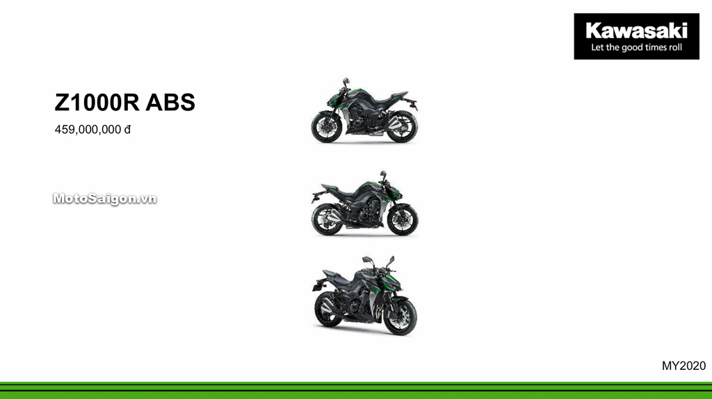 Giá xe Kawasaki Z1000R ABS 2020 mới nhất