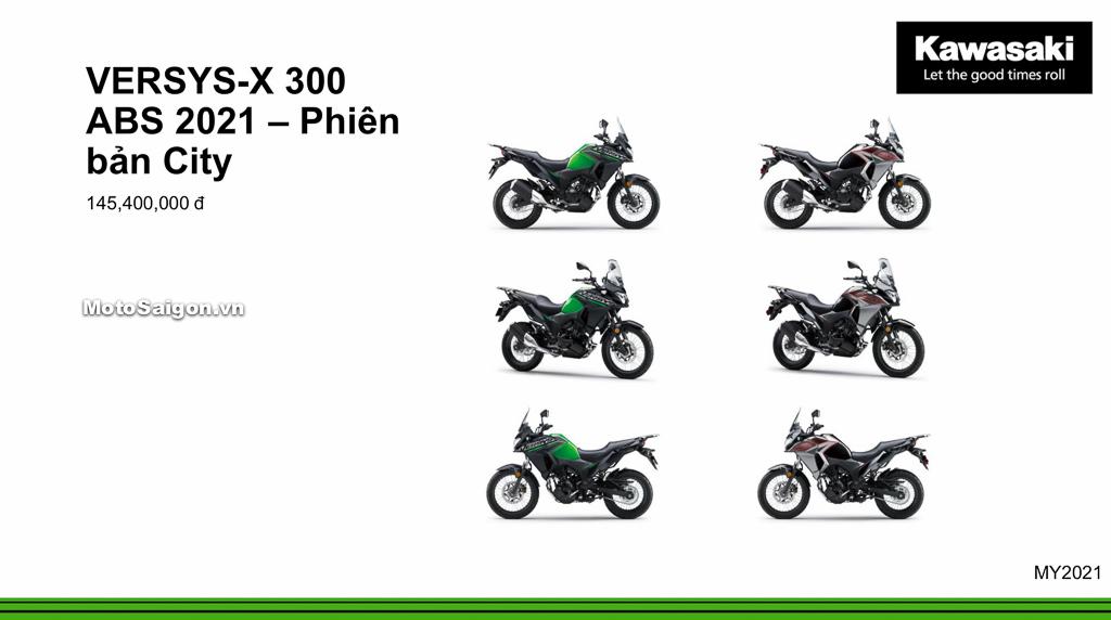 Giá xe Kawasaki Versys-X 300 City ABS 2020 mới nhất