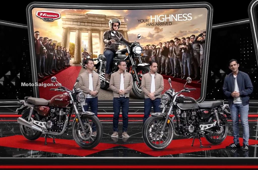 Honda CB350 Hness ABS chính thức ra mắt giá bán 59 triệu đồng
