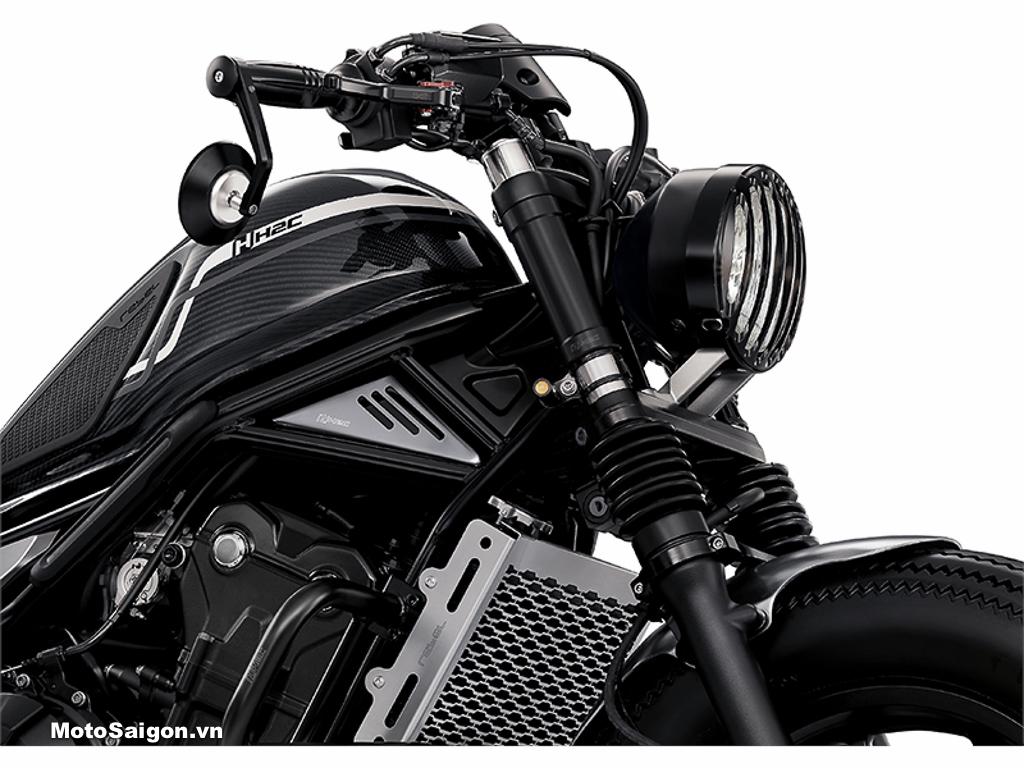 Đồ chơi phụ kiện chính hãng H2C cho Honda Rebel 500 2020