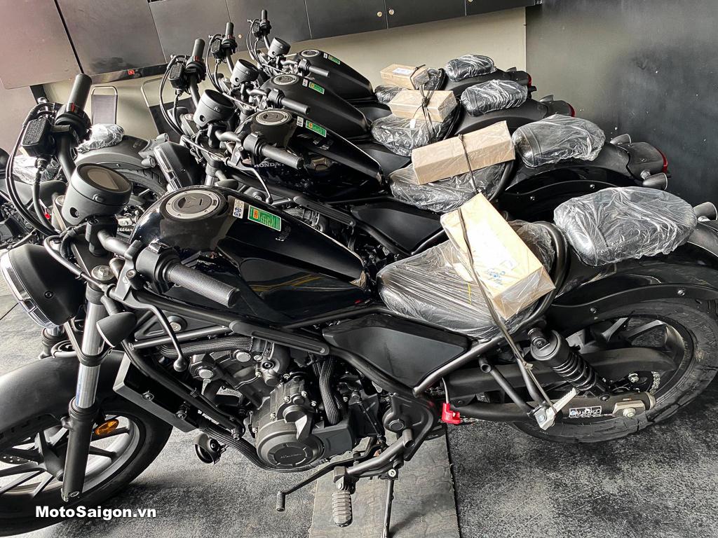 Honda Rebel 500 2020 phiên bản màu đen bóng