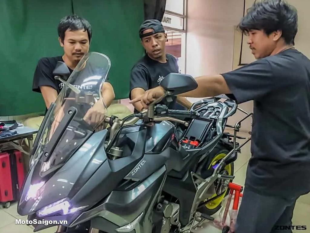 Hình ảnh Zontes 310X xuất hiện tại Thái Lan