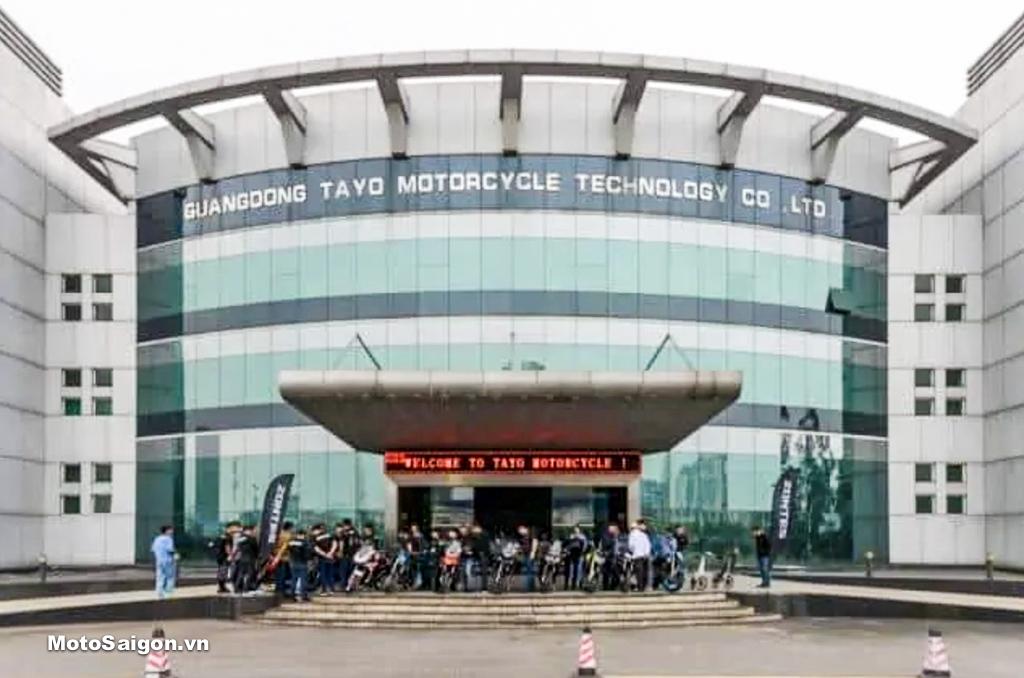 Tayo Quảng Đông với tổng vốn đầu tư 2,6 tỷ RMB, có diện tích 600mu