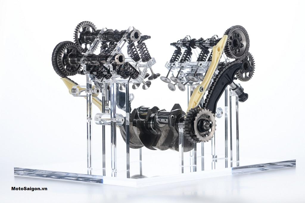 Động cơ V4 Granturismo của Ducati