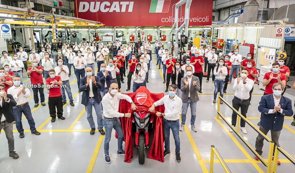 Ducati Multistrada V4 sẽ được trang bị 2 radar an toàn