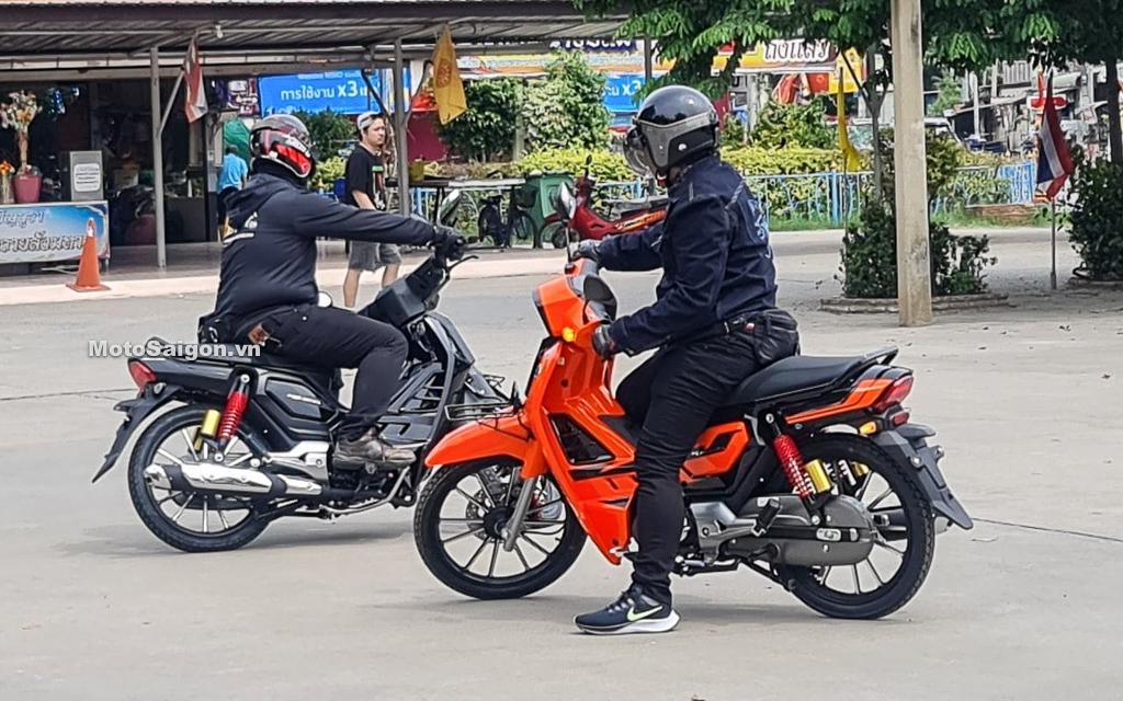 Hình ảnh GPX Rock 110 phiên bản Dream giá rẻ của Thái