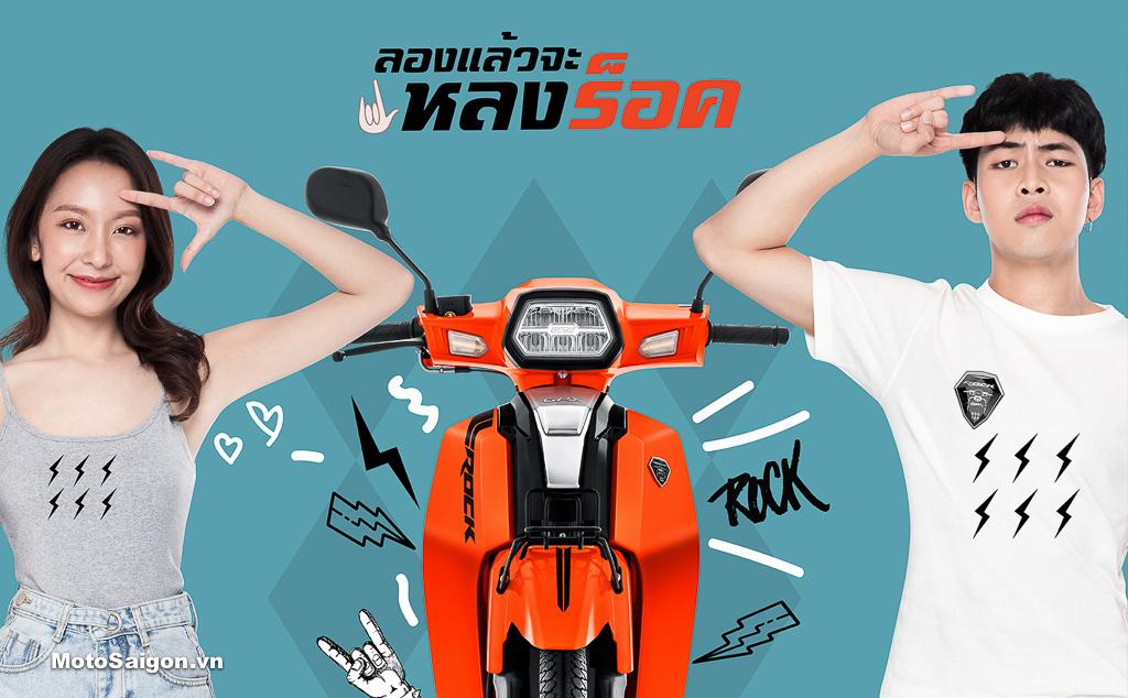 GPX Rock 110 xe số của Thái Lan đã có giá bán