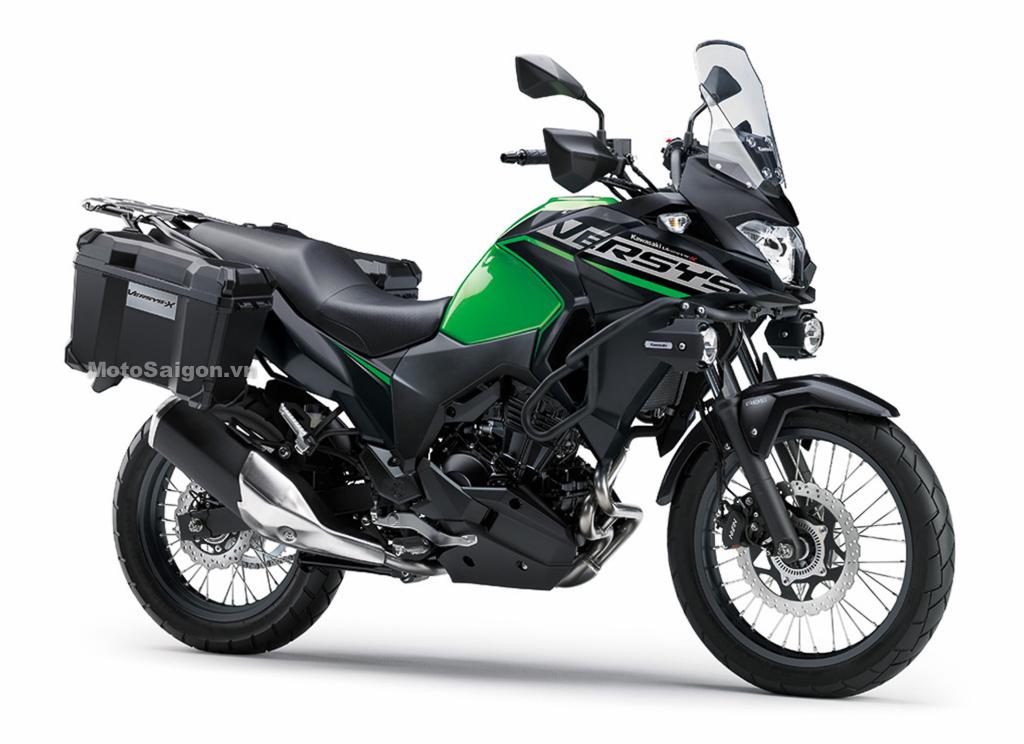 Kawasaki Versys-X 300 Tourer 2021 giá bán 163,1 triệu đồng