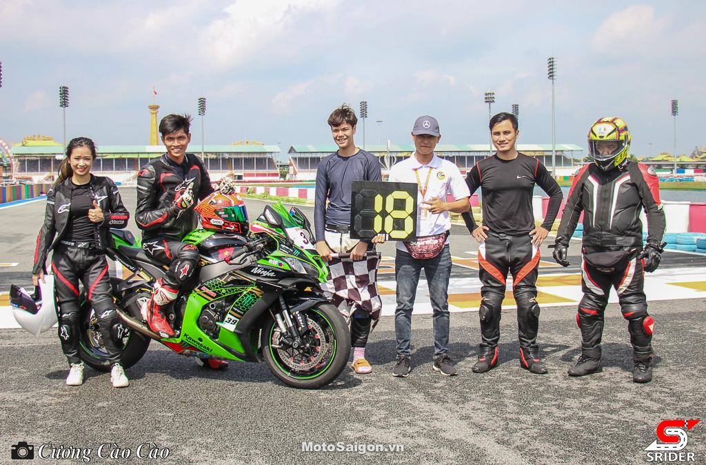 Kawasaki Ninja ZX-10R KRT lập kỷ lục chạy lap nhanh nhất trên sân Đại Nam