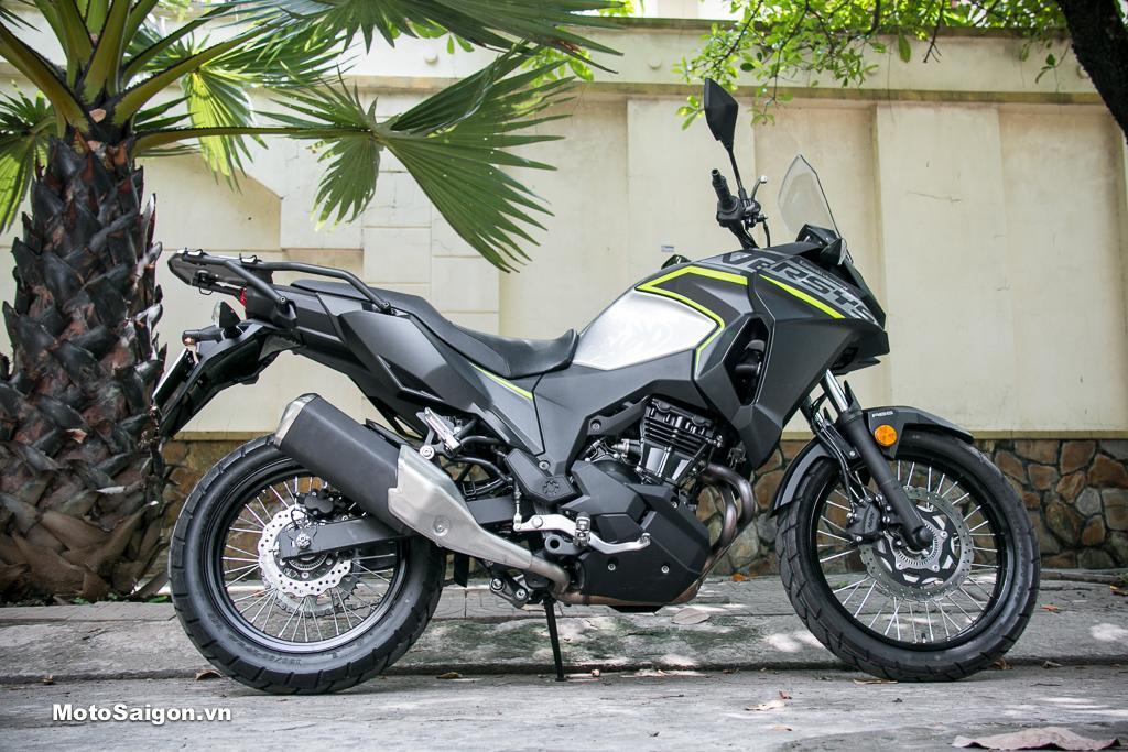 Kawasaki Versys-X 300 City 2021 giá bán 145,4 triệu đồng
