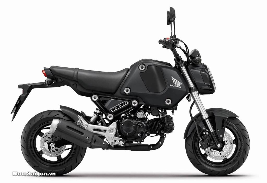 Honda MSX125 2021 no-ABS tiêu chuẩn màu đen