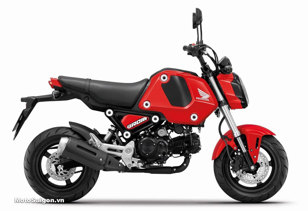 Honda MSX125 2021 no-ABS tiêu chuẩn màu đỏ