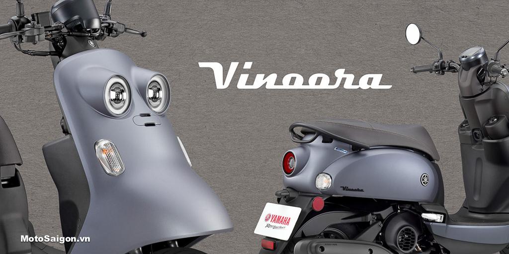 Yamaha Vinoora 125 xe tay ga siêu dễ thương giá bán 61 triệu đồng