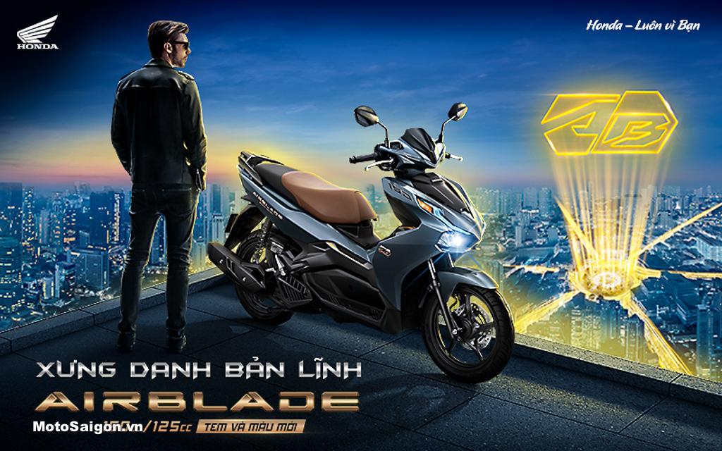 Honda Việt Nam giới thiệu phiên bản mới Honda Air Blade 150cc/125cc