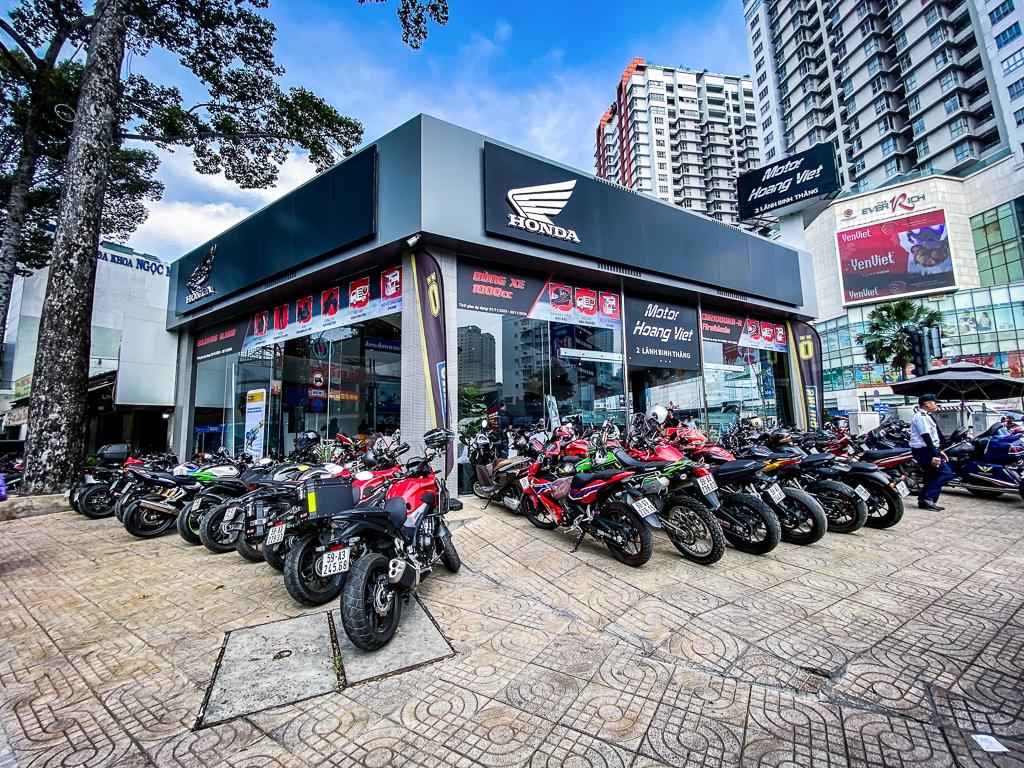 Hàng trăm biker rộn ràng chuẩn bị cho Đại hội Mô tô Honda 2020