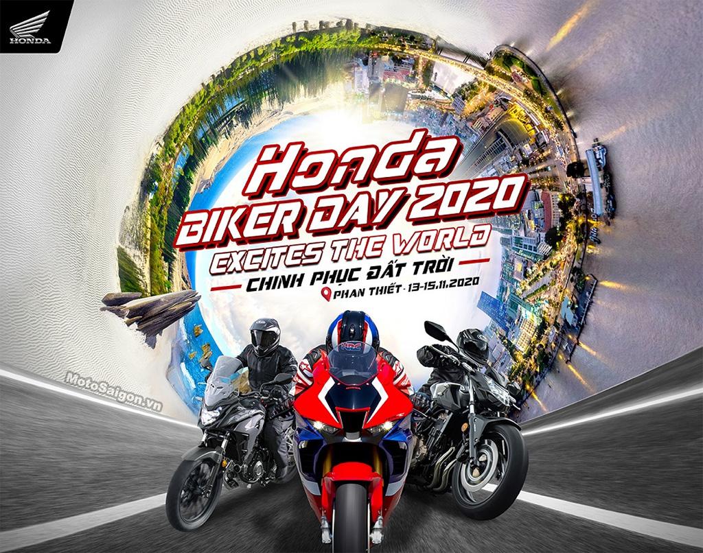 Sắp diễn ra Đại hội Mô tô Honda - Honda Biker Day 2020 tại Phan Thiết