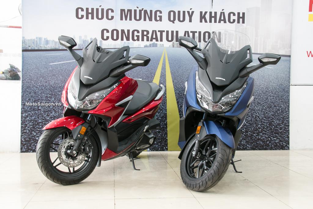 Honda Forza 350 đầu tiên về Việt Nam đã có giá bán