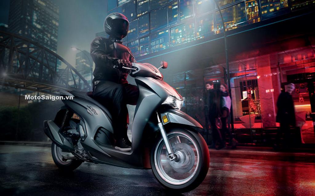Honda SH350i chính thức ra mắt nhiều chi tiết giống SH150