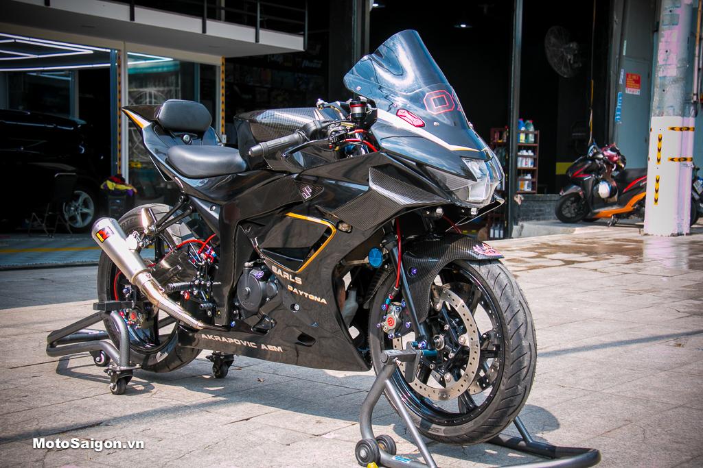 """Suzuki GSX-R150 """"lột xác"""" phong cách MotoGP cực ngầu tại Kỳ Chế Mủ"""