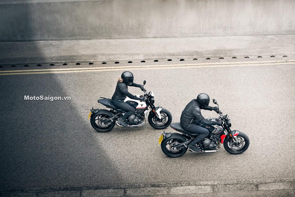 Phụ kiện đồ chơi chính hãng của Triumph Trident 660