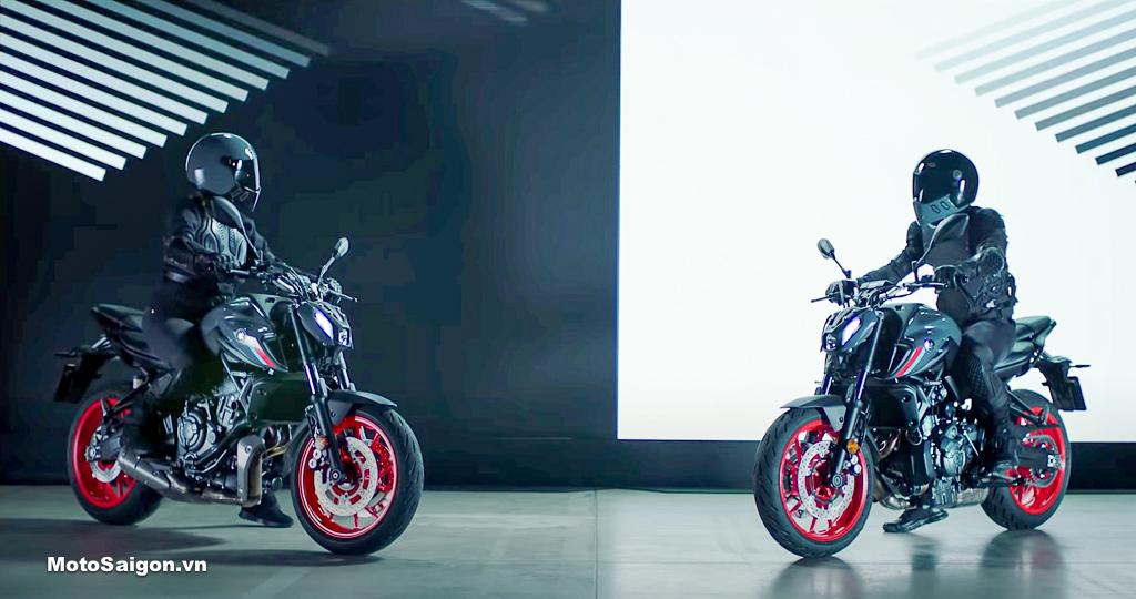 Yamaha MT-07 2021 đàn em của MT-09 đã có giá bán