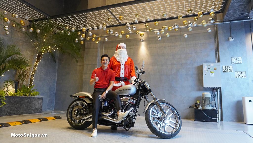 Harley-Davidson CVO BreakOut độ Stage IV 2146cc của doanh nhân Quốc Cường