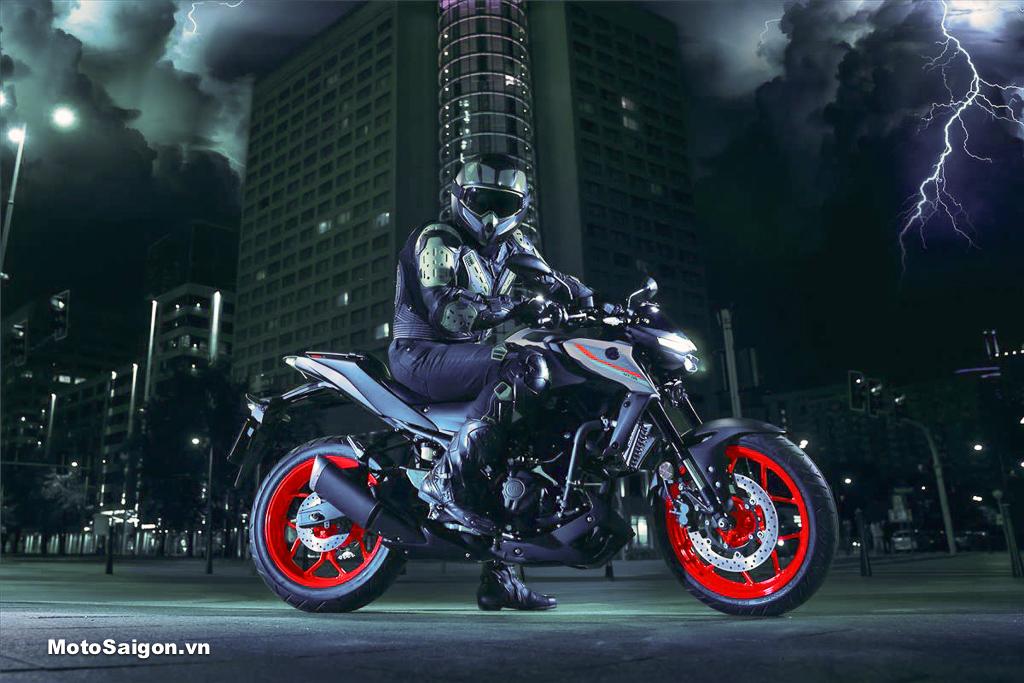 Yamaha MT-03 2021 bản đặc biệt chỉ 200 chiếc đã có giá bán