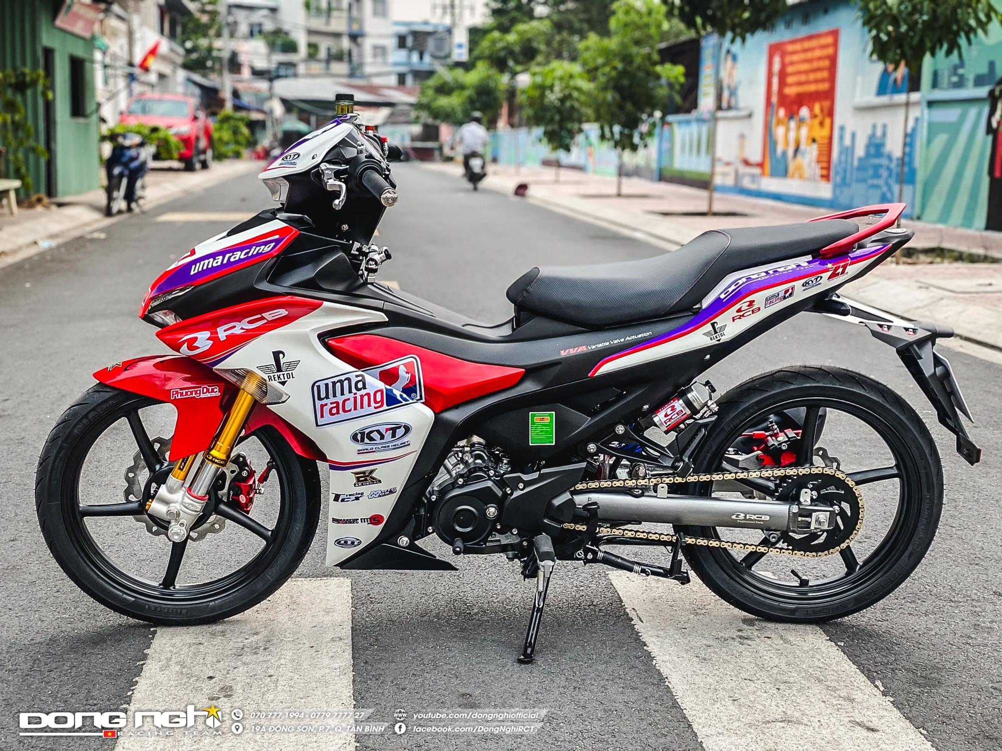 Exciter 155 độ Touring của tay đua Tô Hà Đông Nghi