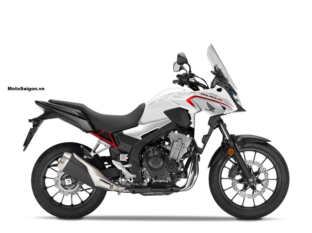 Honda CB500X 2021 màu trắng