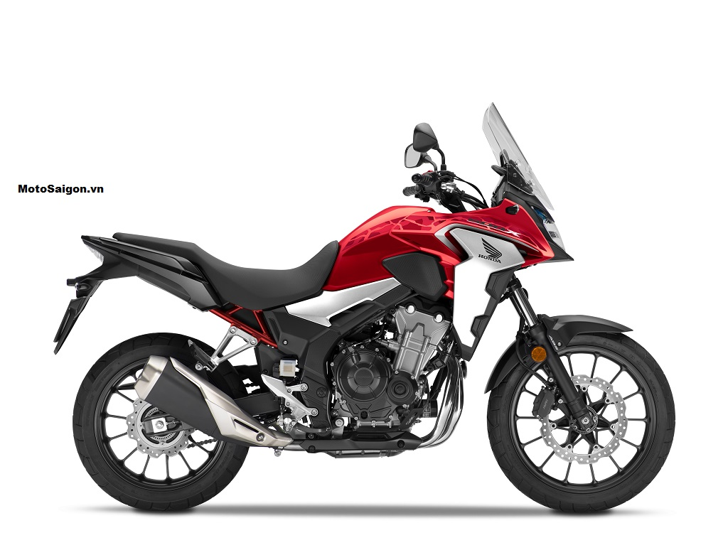Honda CB500X 2021 màu đỏ
