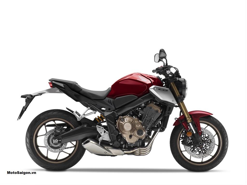 Honda CB650R 2021 màu đỏ