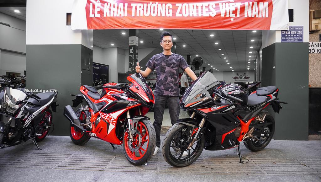 GPX Demon GR200R đầu tiên Việt Nam giá bán 73 triệu đồng