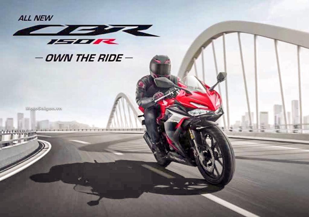 Honda CBR150R 2021 mẫu mới có ABS giá bán từ 58 triệu đồng