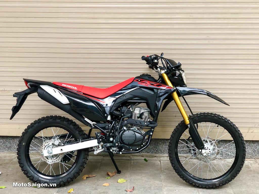 Honda CRF150L 2021 Extreme Black đã về Việt Nam với giá cực tốt