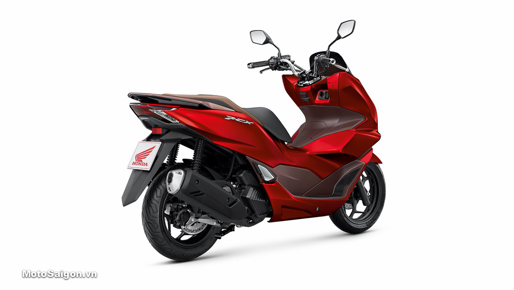 Honda PCX 160 màu đỏ nâu