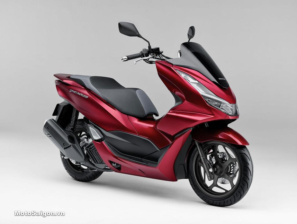 Honda PCX 160 màu đỏ đen