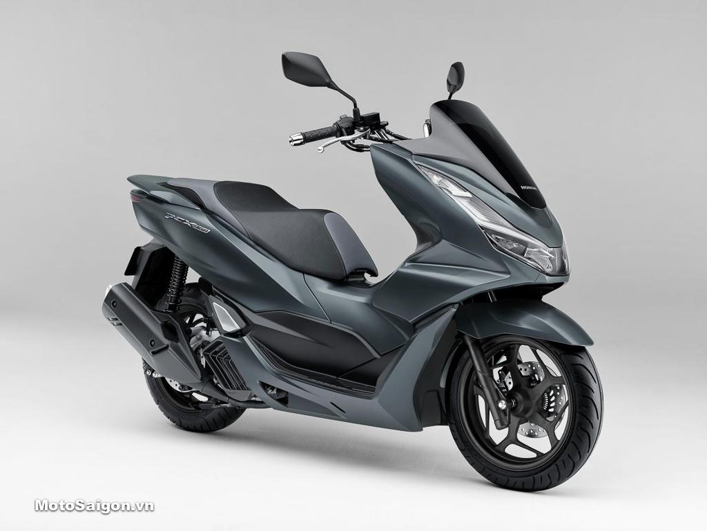Honda PCX 160 màu xám đen