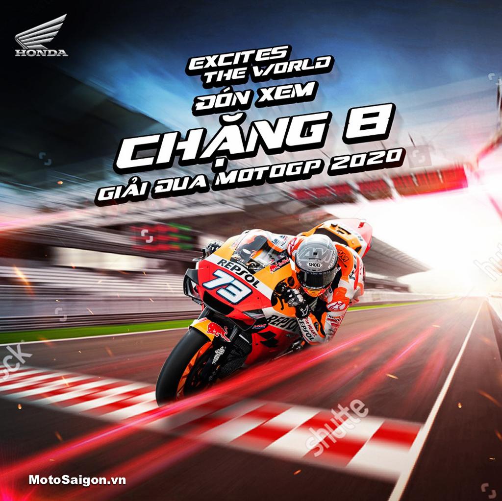 Honda Việt Nam tiếp tục tài trợ tổ chức MotoGP