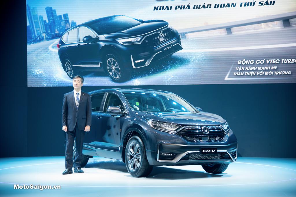 Ra mắt Honda CR-V phiên bản mới