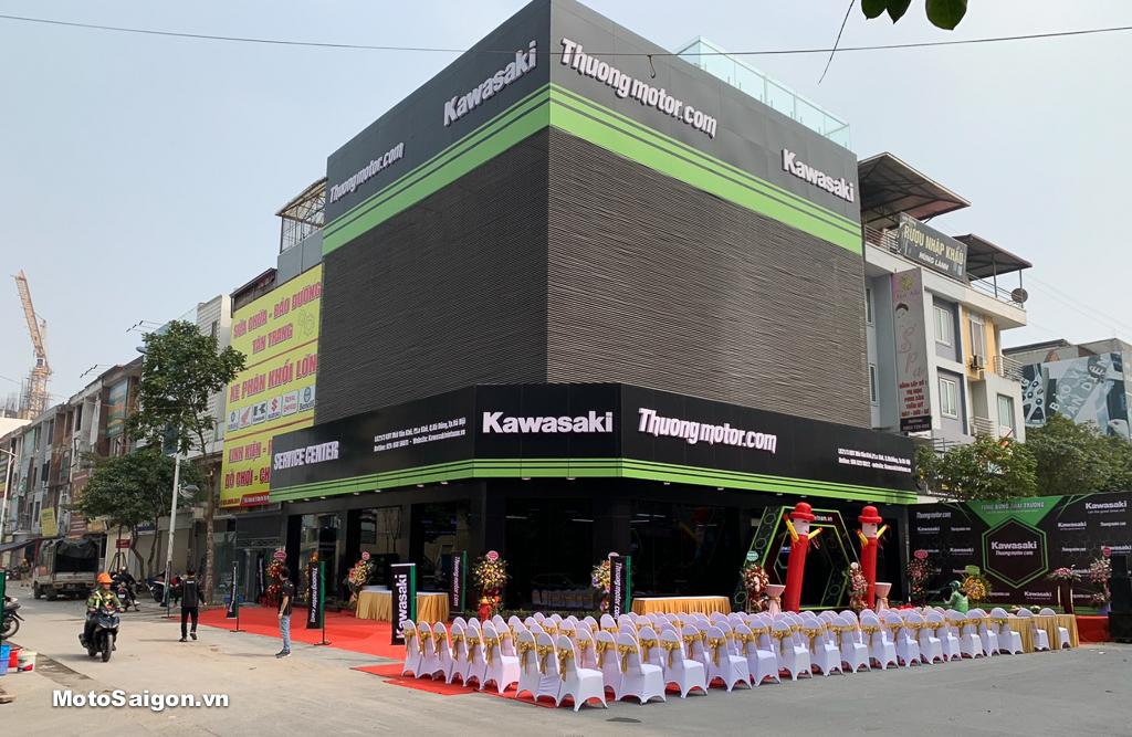 Showroom Kawasaki Thưởng Motor đã chính thức là đại lý motor Kawasaki 5S đầu tiên tại Việt Nam
