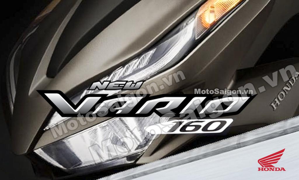 Honda Vario 160 trang bị động cơ của PCX 160 sẽ ra mắt cuối năm 2021