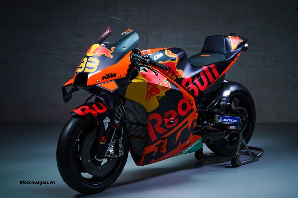 KTM RC16 của đội Red Bull KTM Factory Racing