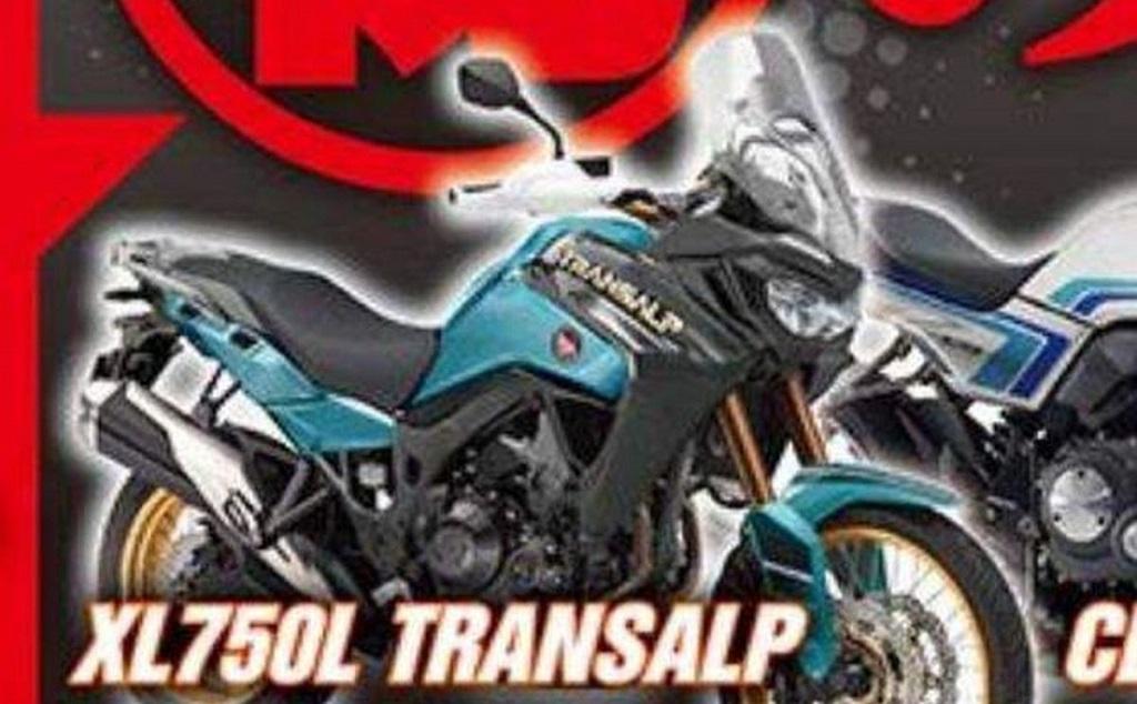 Hình ảnh Honda Transalp trên Young Machine