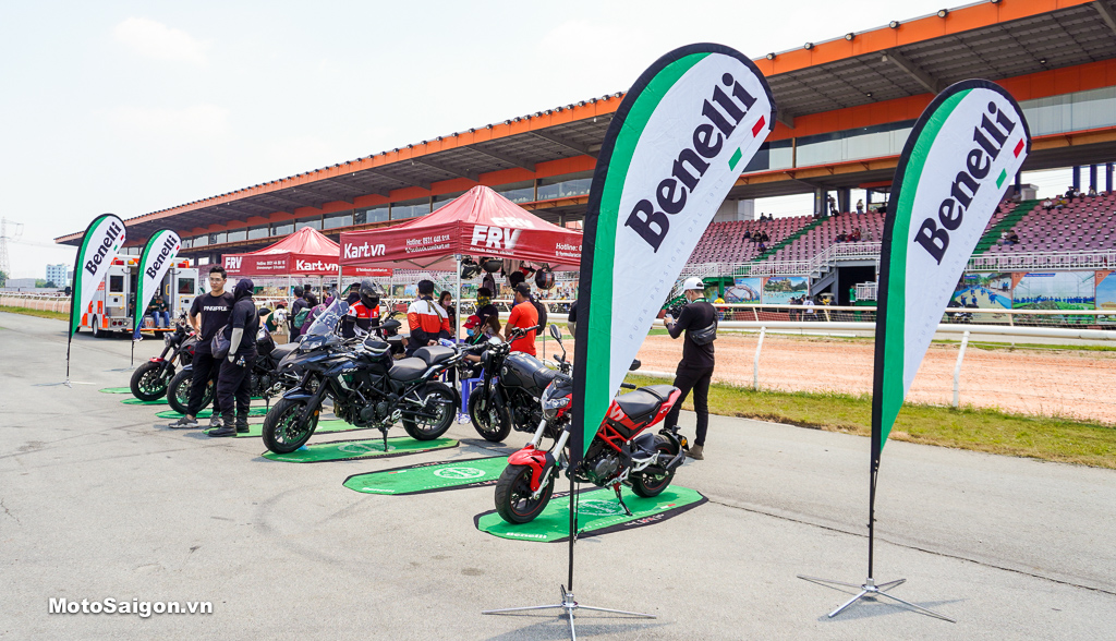 Benelli Việt Nam tổ chức Ngày hội lái thử xe mới 2021 tại Trường đua Đại Nam